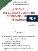 Lesson 6 - Economic History