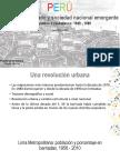 Planificación Urbana