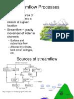 Stream Flow Processes