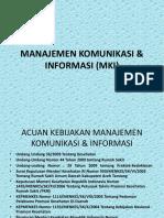 Manajemen Komunikasi & Informasi (Mki)