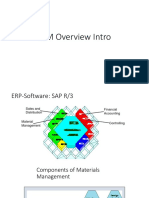 MM Overview SAP for beginners