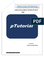 Java Programs Examples With Output PDF