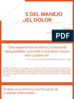 Bases Del Manejo Del Dolor