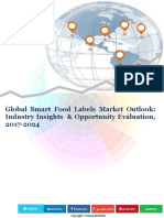 Global Smart Food Labels Market (2016-2024)- Research Nester