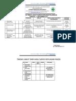 7.1.1.6 Hasil Survei Dan Tindak Lanjut Survey