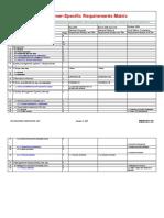 CSR Matrix (Example Only)