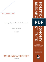 Boyce(2007) Inequality Environment