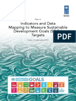SDGs Indicators and Data Mapping in Indonesia_UNDP UNEP 2015
