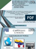 Presentacion de Proyecto Plan Ergonomico mediante la aplicacion de la Metodologia LEST
