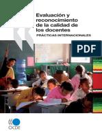 Evaluacion y reconocimiento de las prácticas de los docentes