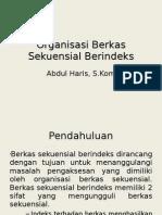 Organisasi Berkas Sekuensial Berindex