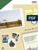 KHDA - American School of Dubai 2016-2017