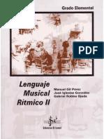 Lenguaje Musical Rítmico II