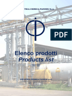 CHIMICA PANZIERI Industrial-catalogue