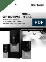 82-HVMAN-In Optidrive HVAC User Guide Rev 2.00