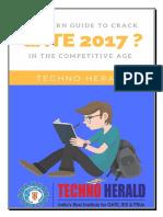A Modern Guide to Crack GATE 2017 TechnoHerald