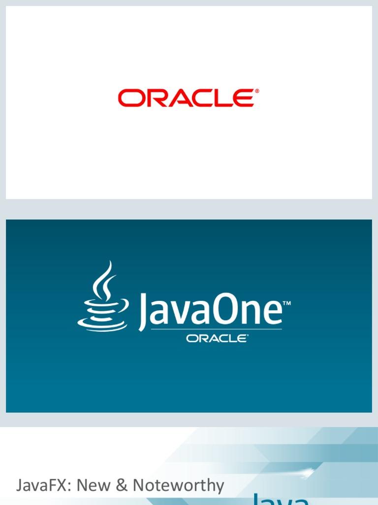 JavaFX 9 - New and Noteworthy pdf | Modular Programming