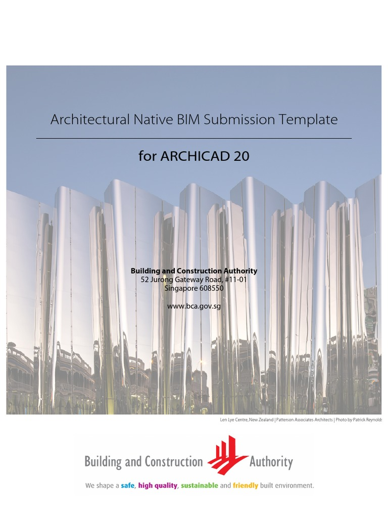 Arch Bim Template Guide Archicad 20 | Building Information Modeling