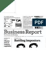 "Scribd named ""Website of the Week"" (San Francisco Chronicle, Aug 2010)"