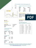 Market Update 19th September 2017