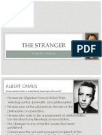 The Stranger With Analysis and Summary