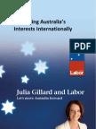 Advancing Australia's Interests Internationally