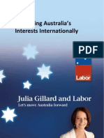 Advancing Australia's Interests Internationally