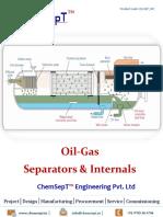 Oil Gas Separators Internals ChemSepT