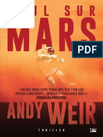 Andy Weir Seul Sur Mars406494079