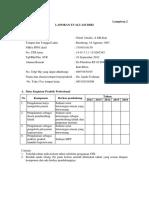 2.Laporan Evaluasi Diri