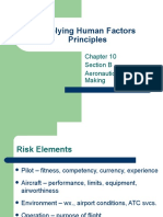 Applying Human Factors