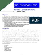 Coastal Shoreline Defence Structures
