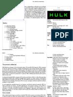 Hulk - Wikipedia, La Enciclopedia Libre