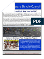Spring 2007 Delaware Bicycle Council Newsletter