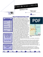 February 2008 Delaware Bicycle Council Newsletter