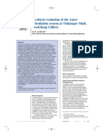 A Critical Evaluation of the Water Reticulation System at Vlaklaagte Shaft, Goedehoop Colliery