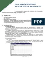 Uso de Excel Para Tratamento Estatístico