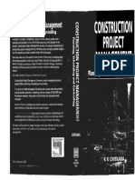 Construction Project Management Planning, Scheduling and Controlling K.K Chitkara