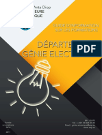Catalogue Du Departement Genie Electrique