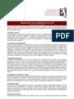 Declaración de Avellaneda -  MIR - UCR 1945