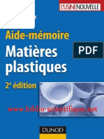 Aide-m_moire - Mati_res Plastiques, De Marc Carrega
