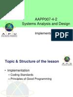 Week 12 SYAD-Implementation  Testing.pptx