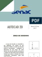 AutoCAD 2D - Coordenadas - SENAC