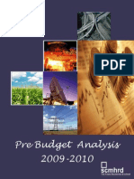 PreBudget Analysis 09 10