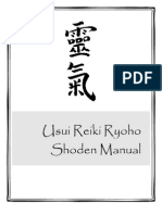Usui Reiki Ryoho Level 1 _Shoden_ Manual