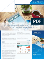 A Detailed NOUS Case-study  - Online Travel Booking Portal Development