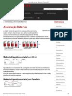 Associação Baterias - Esquemas - Eletronica PT