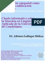 Cartel Alfonso