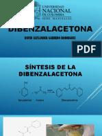 organica dibenzalacetona
