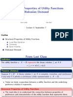 Lecture_04 Structural Properties of Utility Functions